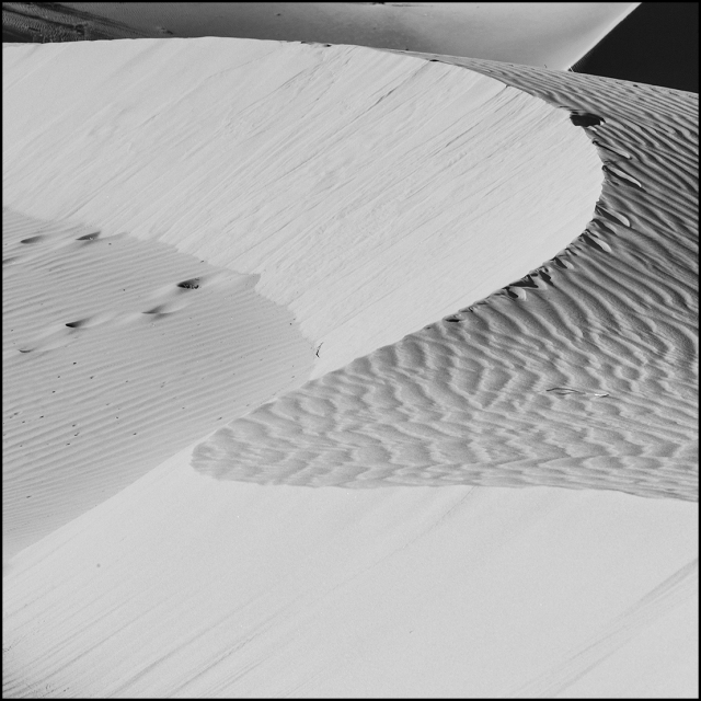 Sinuous curves, subtle textures and a wide tonal range create this image.  Canon 5D Mk II w/ 70-200 f4L.