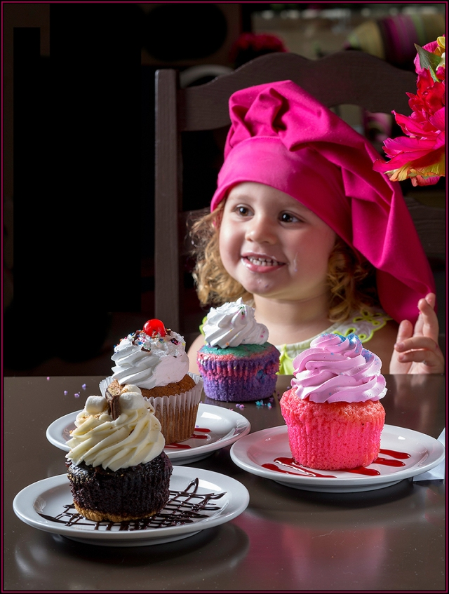 Cover shot for restaurant guide for Loves Cupcakes in National City.  Canon 5D Mk III with Canon 85mm f1.8