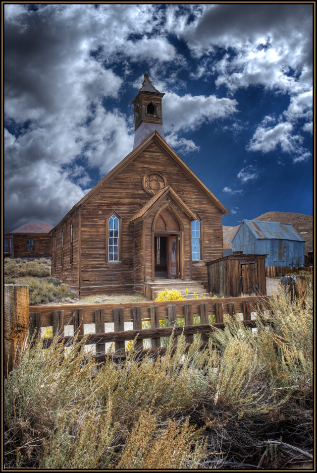 The church in Bodie