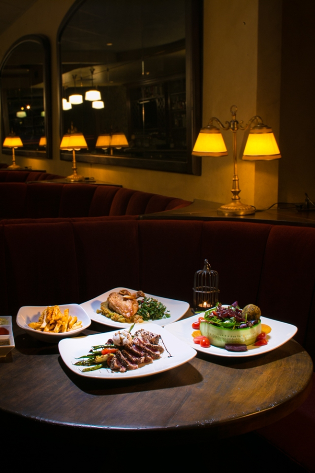 First version of the shot for Croce's restaurant.  Shot with Canon 5D MkIII and F1.2 50mm f1/2