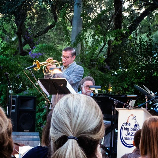 Gilbert Castellanos at Berenardo Winery concert