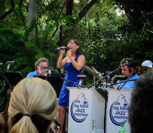 Janet Hammer with Big Band Jazz Machine