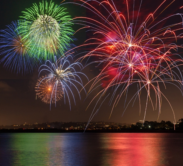 Fireworks Sea world 6-25 - 011 composite for blog