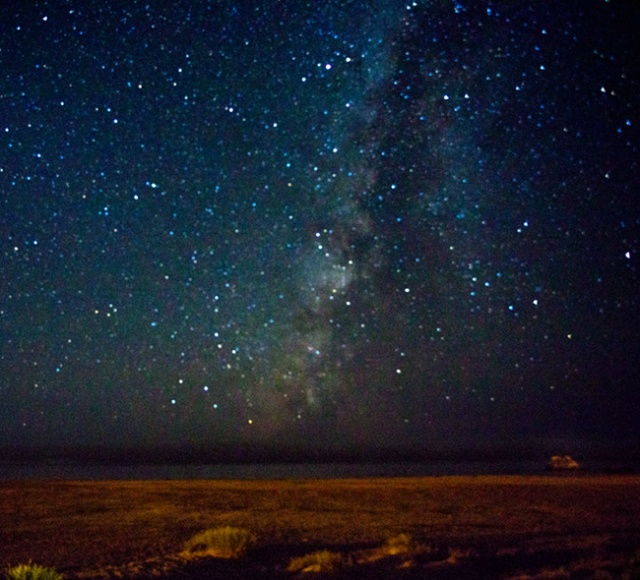 Milkyway from Cayucos beach