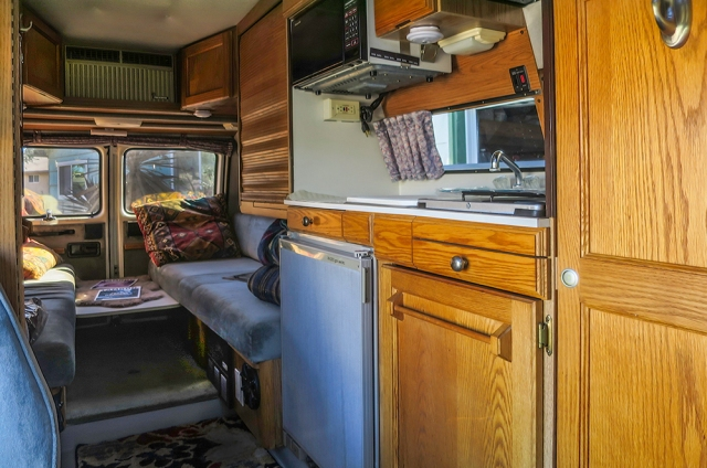 Roadtrek interior-driver side 01