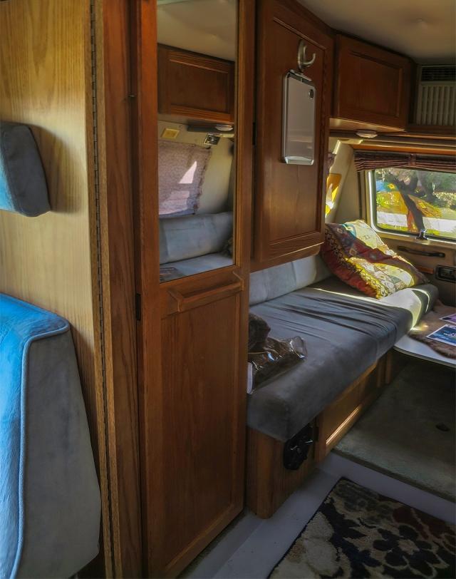 Roadtrek interior-pasenger side 01